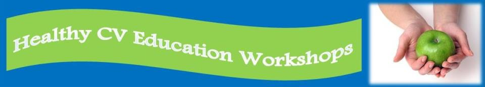 Healthy CV Education Workshops Banner