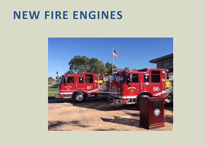 Chula Vista Fire Department (CVFD) Station 7 welcomed two new fire engines replacing older units that have been in service for 15 years.
