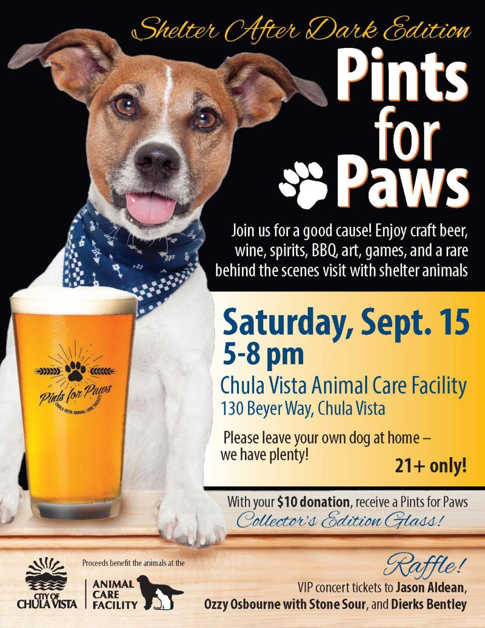 PintsForPaws shelter edition