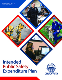 Intended Public Safety Expenditure Plan