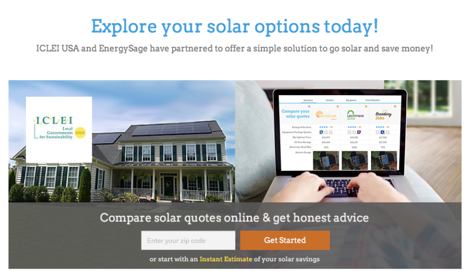 ICLEI Solar Marketplace