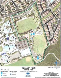 Voyager Park Map
