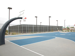 Mount San Miguel Park Basketball Courts