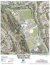 Montevalle Park Map