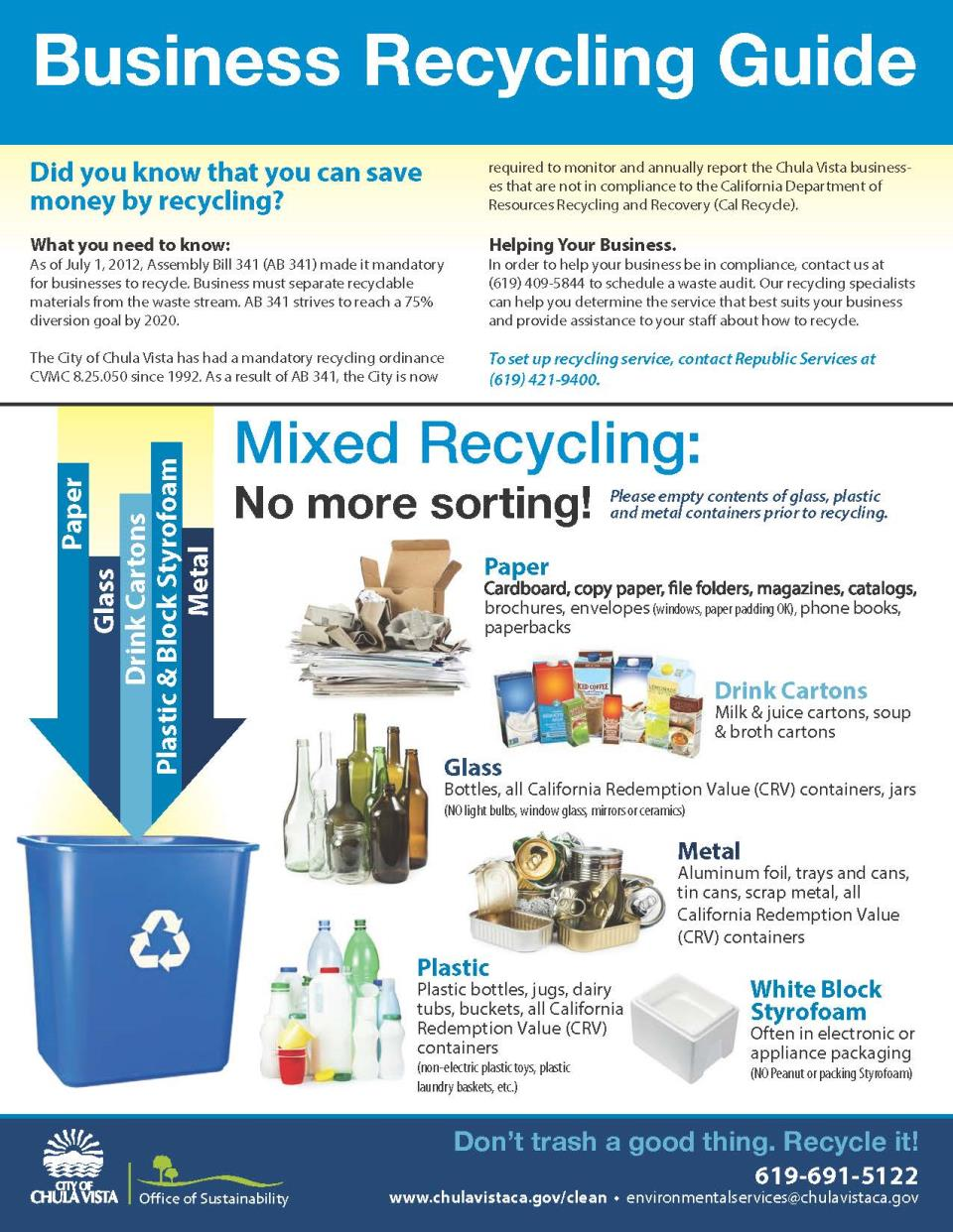 BusinessRecycling guide