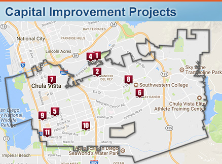 Maps of Chula Vista | City of Chula Vista Chula Vista Map on
