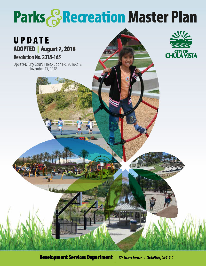 Parks & Recreation Master Plan Update | City of Chula Vista
