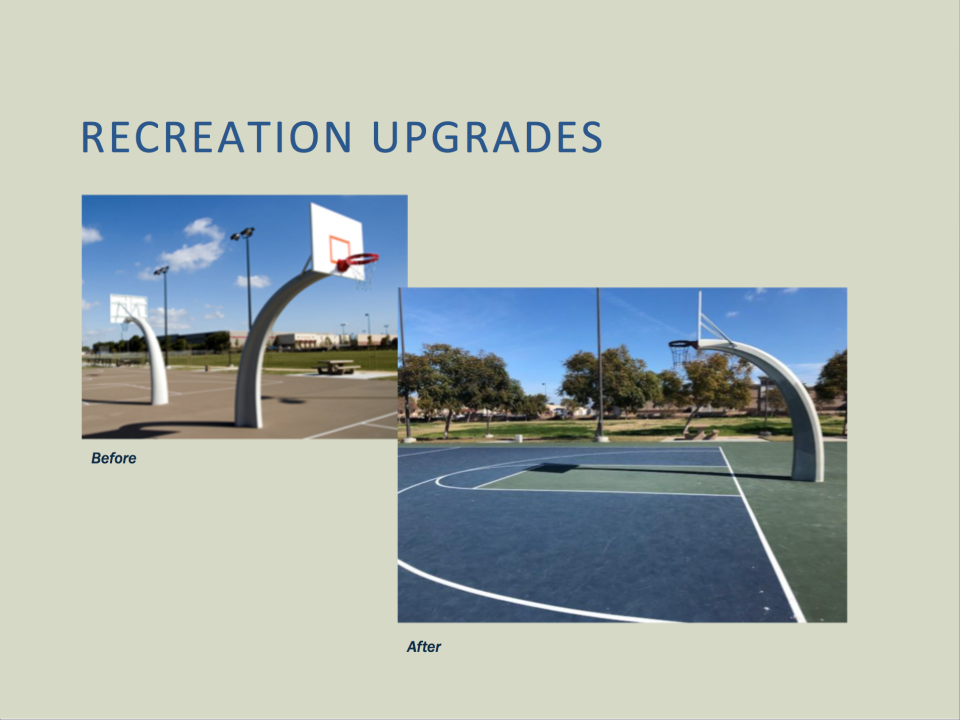 Recreation Upgrades