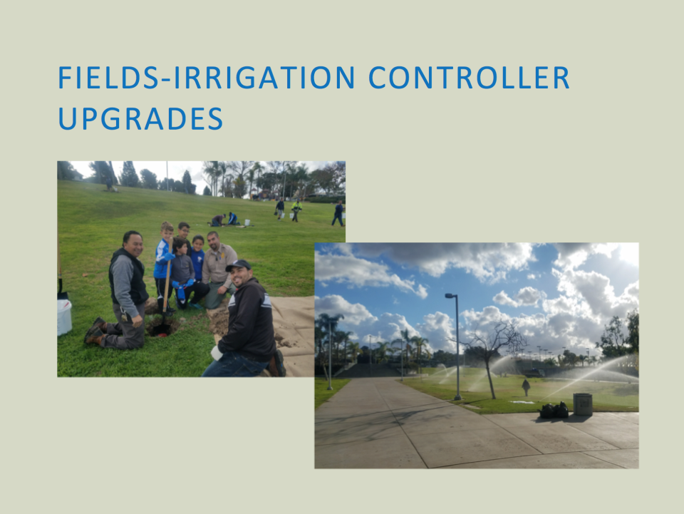 Irrigation Controller Upgrades