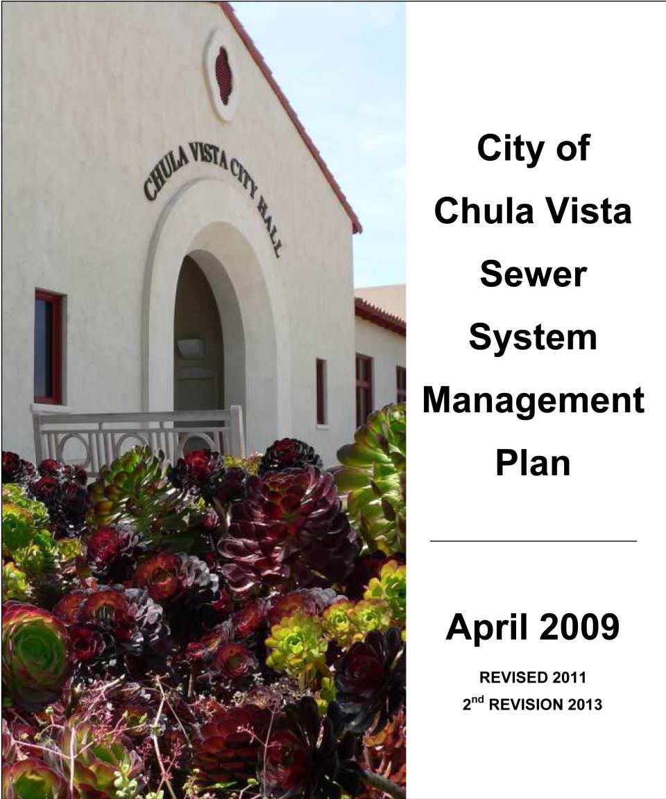 Sewer System Management Plan