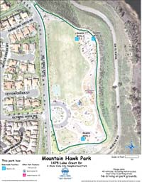 Mountain Hawk Park Map