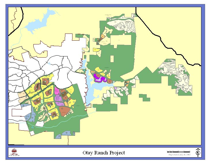 Map of Otay Ranch