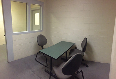 Jail Professional Visitation Room