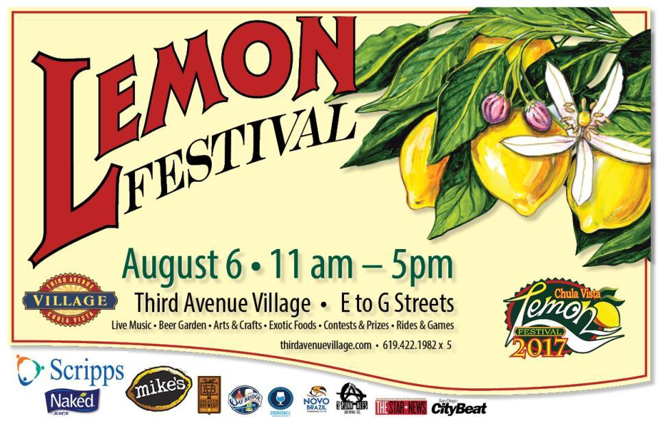 2017 Lemon Festival Poster