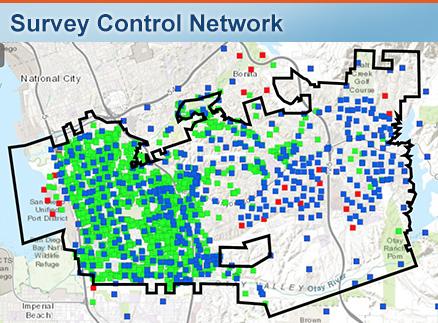 Survey Control Map