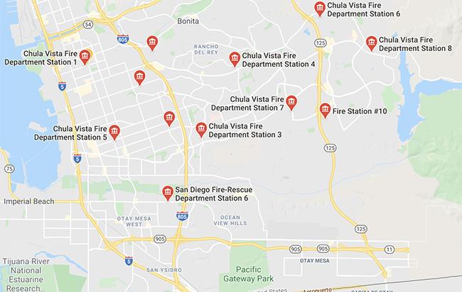 Stations & Locations | City of Chula Vista